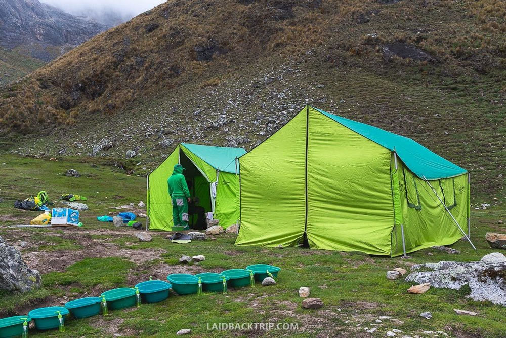 Everything is provided if you do the Salkantay Trek with the tour operator