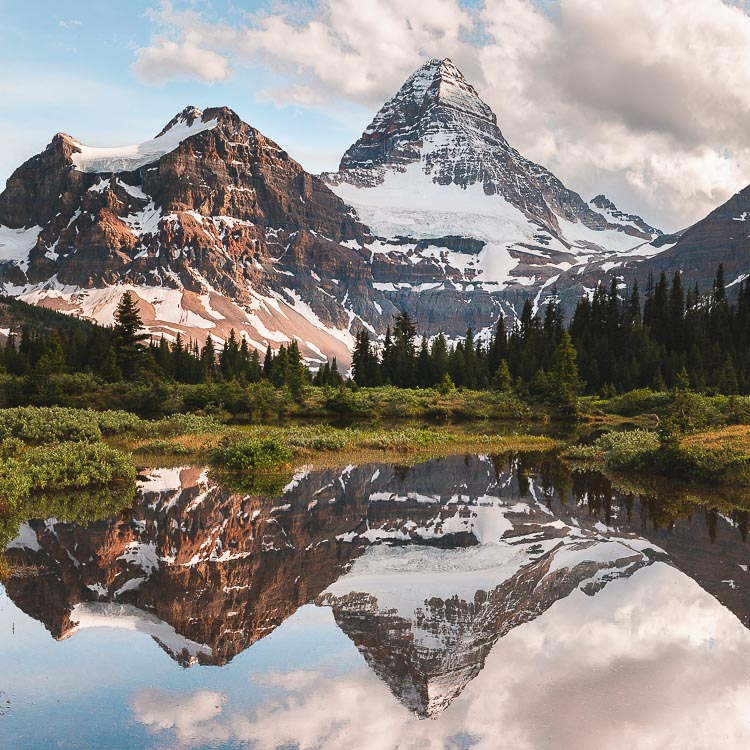 MOUNT ASSINIBOINE - MATTERHORN OF THE CANADIAN ROCKIES