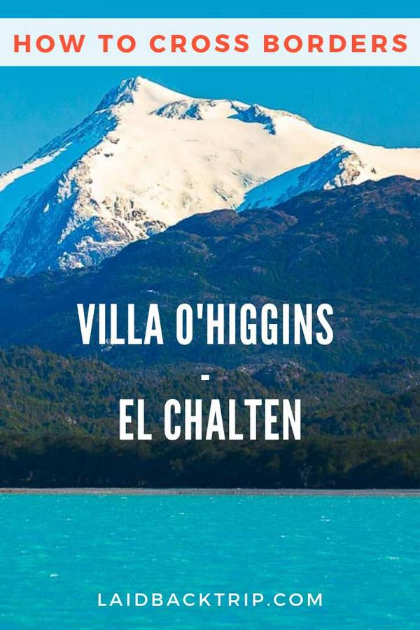 Villa O'Higgins - El Chalten Border Crossing
