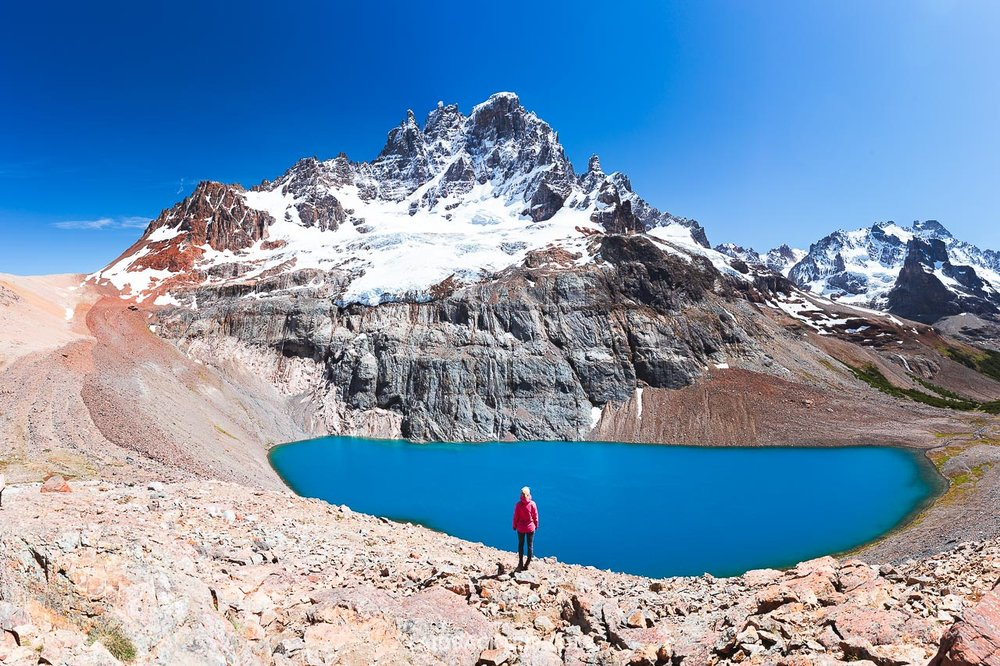 Laguna Cerro Castillo is a demanding hike in Chilean Patagonia and one of the best things to do while road tripping Carretera Austral.