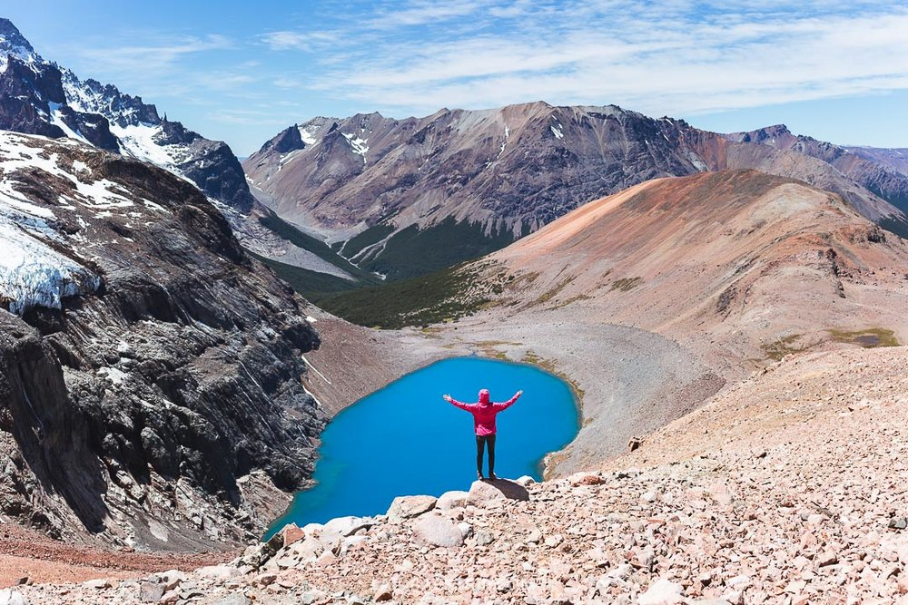The trail to Cerro Castillo lake is well marked, and you need to be moderately fit to get there.