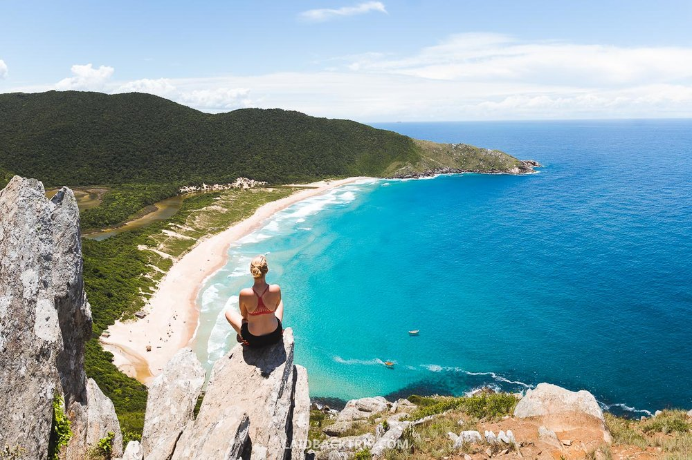 Lagoinha do Leste to Matadeiro beach hike is a great adventure and one of the best things to do while exploring Florianopolis, Brazil.