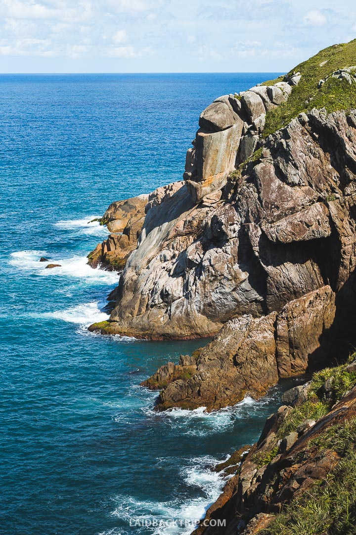 Hike along the coast of Florianopolis will make a great adventure.