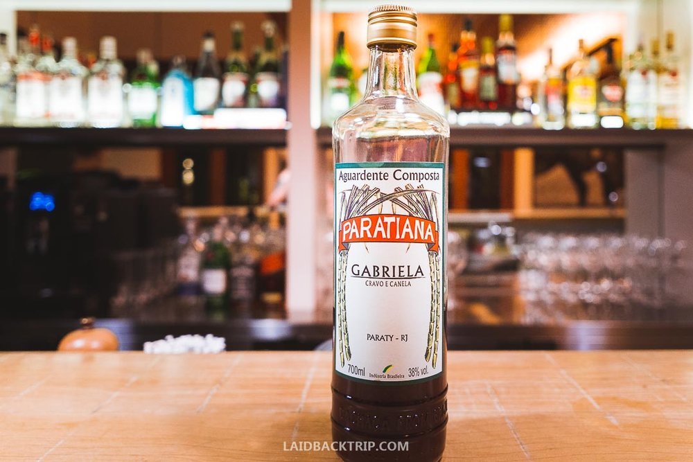 Paraty is known for its sugar cane distilleries and traditional hard liquor drink you can taste in the town's restaurants.