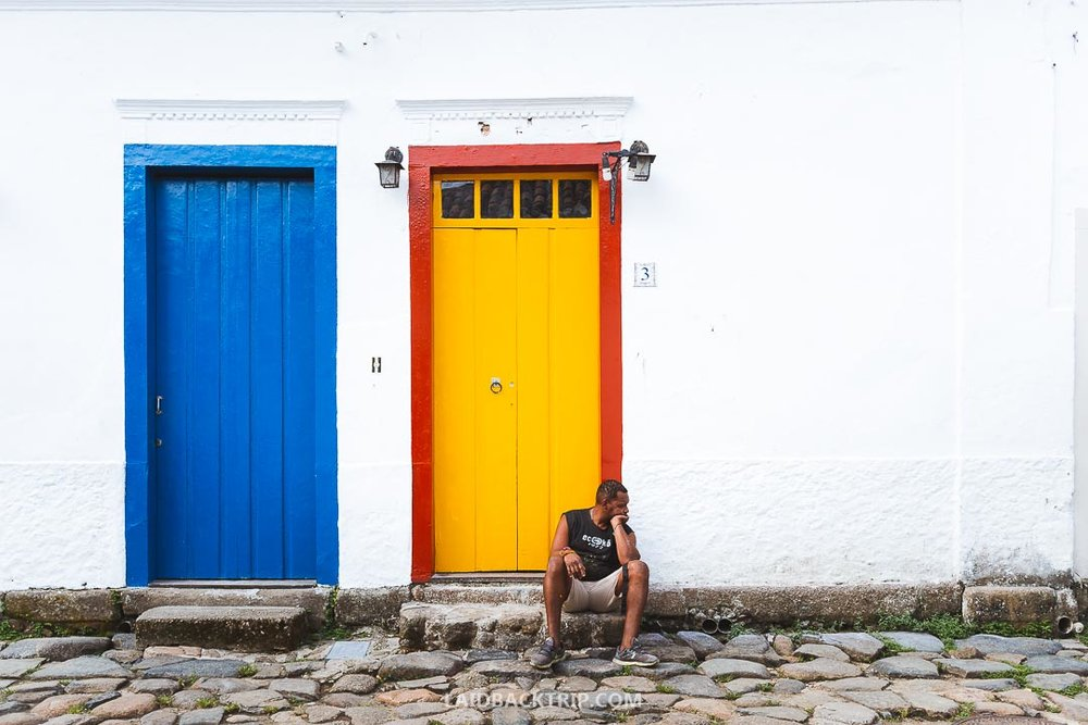 Paraty is a colorful colonial town worth visiting on your trip to Brazil.