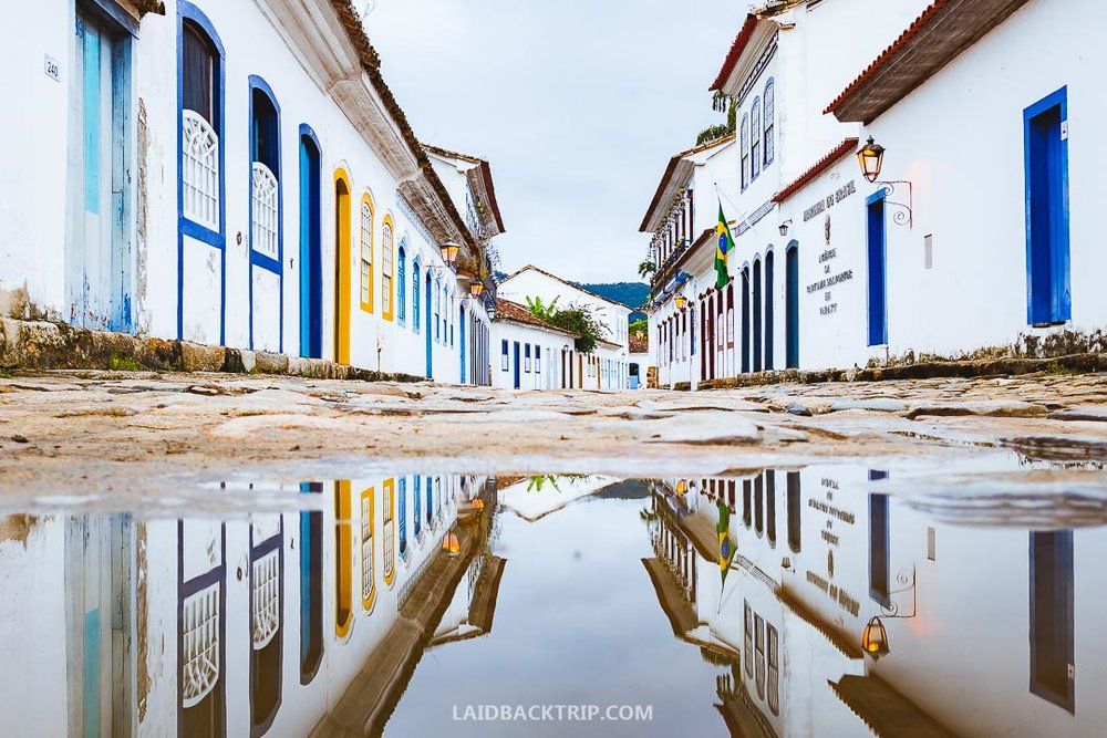 Go off beaten tracknd visit Paraty, a colonial town with rich history and lots of activities to do.