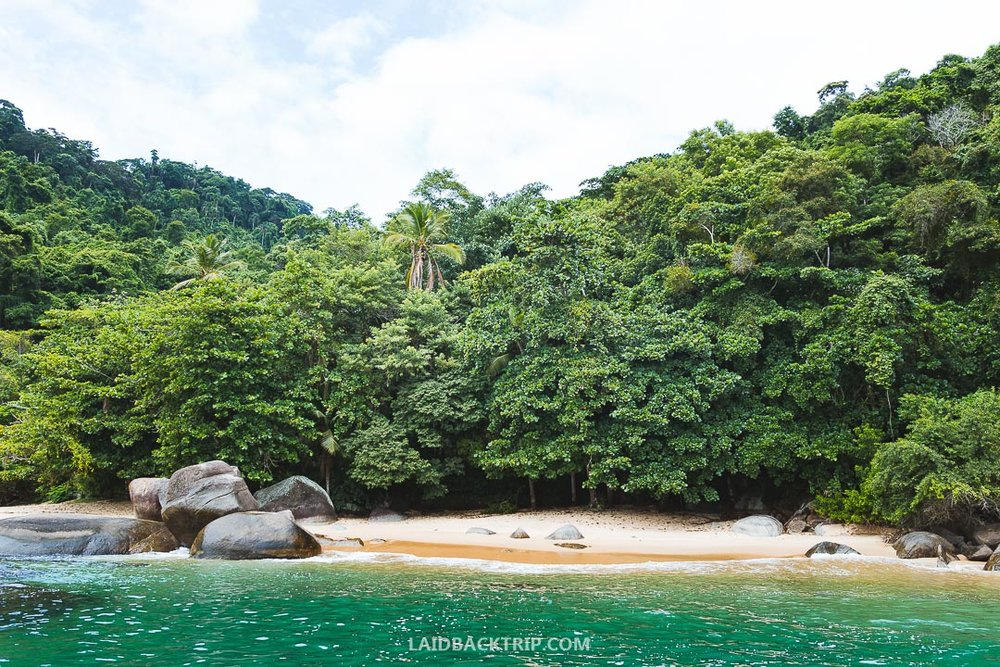 Paraty has one of the best beaches in Brazil so you can do water sport and other fun activities.