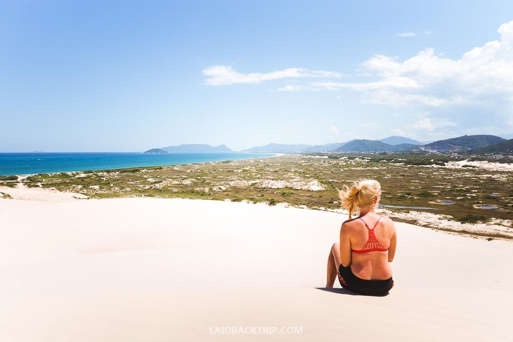 The scenery on Florianopolis is stunning and you can explore the island for days and weeks.