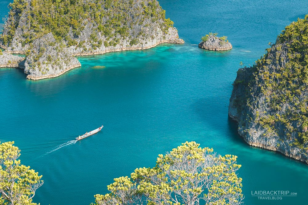 Raja Ampat features one of the best snorkeling and scuba diving spots in Indonesia.