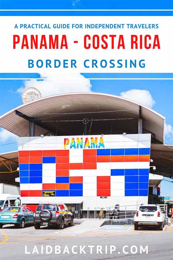 Panama to Costa Rica Border Cross