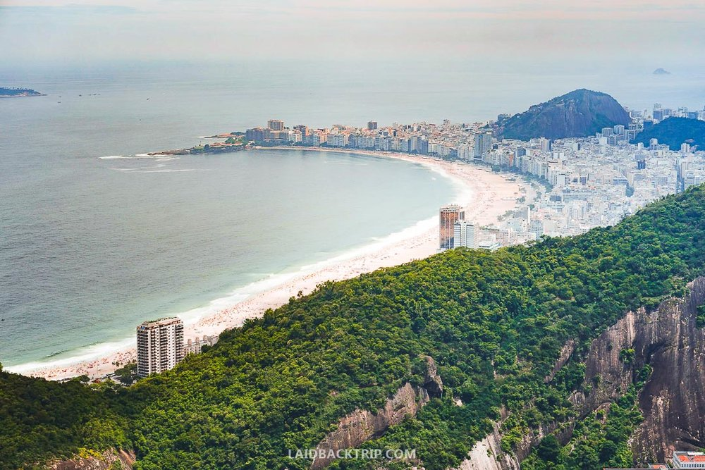 Sugarloaf Mountain is one of the most iconic places in Rio de Janeiro, Brazil.