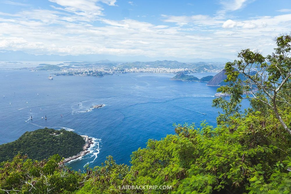 A cable car to the top of Sugarloaf Mountain is expensive even by the Rio de Janeiro standards.