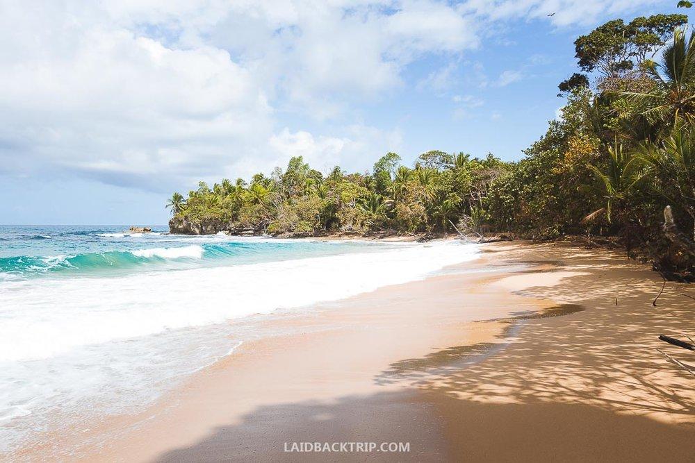 Beaches are amazing in Bocas del Toro.