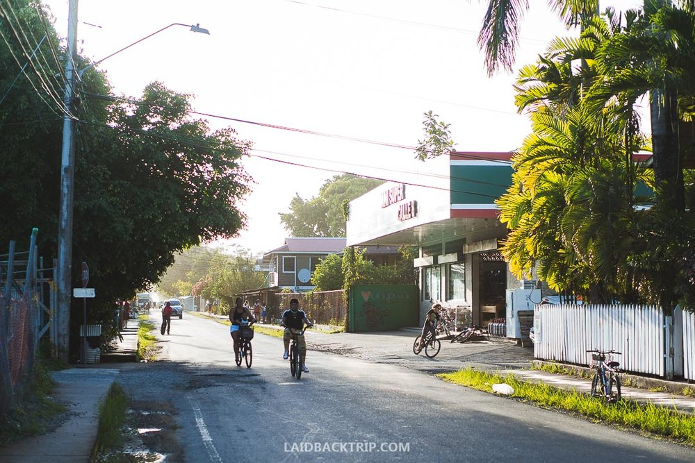 We spent 4 days in Bocas del Toro and felt safe.