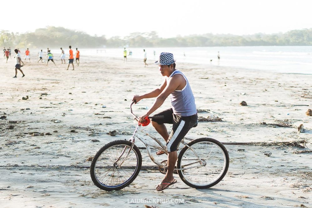 You can rent a bike almost in every hostel, tour agency or rental shop.