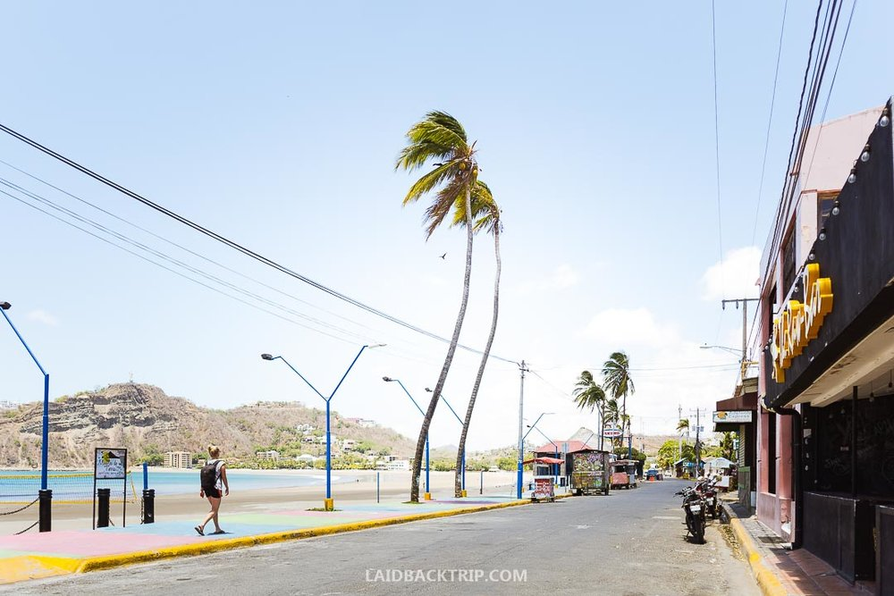 You can walk around the San Juan del Sur and enjoy one of the local restaurants.