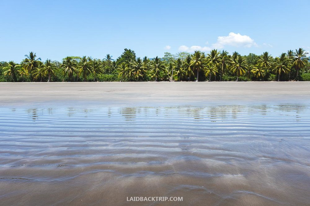 Uvita, Costa Rica is a popular tourist town and a perfect place for visiting Ballena National Park.