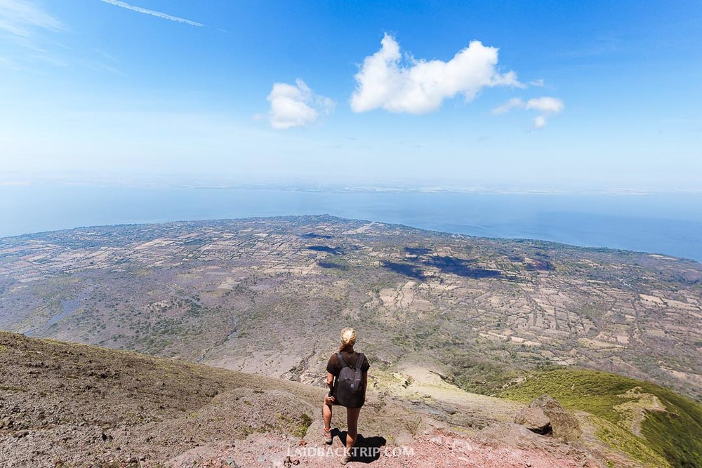 Guide to hiking the Concepcion Volcano on Ometepe Island in Nicaragua.