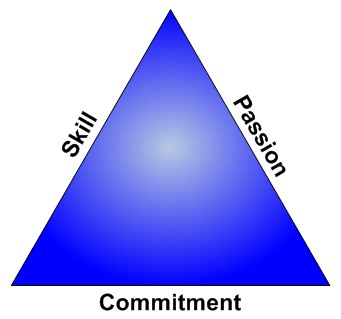 Passion Commitment Skill