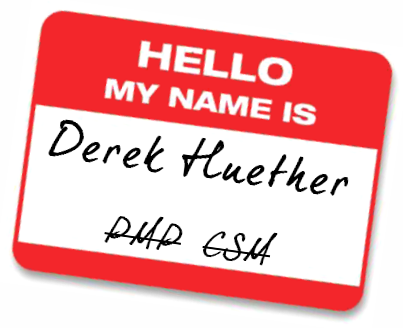 Hello my name is Derek Huether