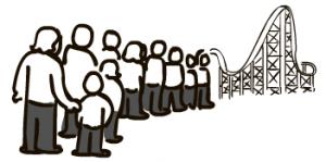 Roller Coaster Line