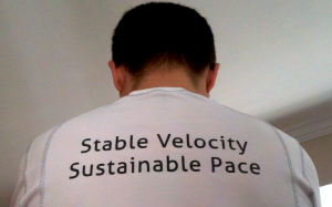 stable velocity sustainable pace