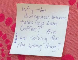 Lean Coffee Agile2015