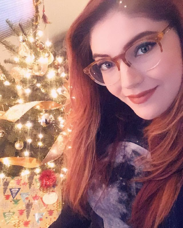 Merry Christmas from me and my Christmas tree!