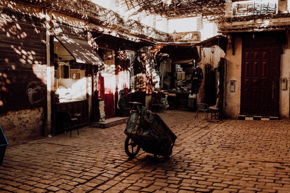 street in fez