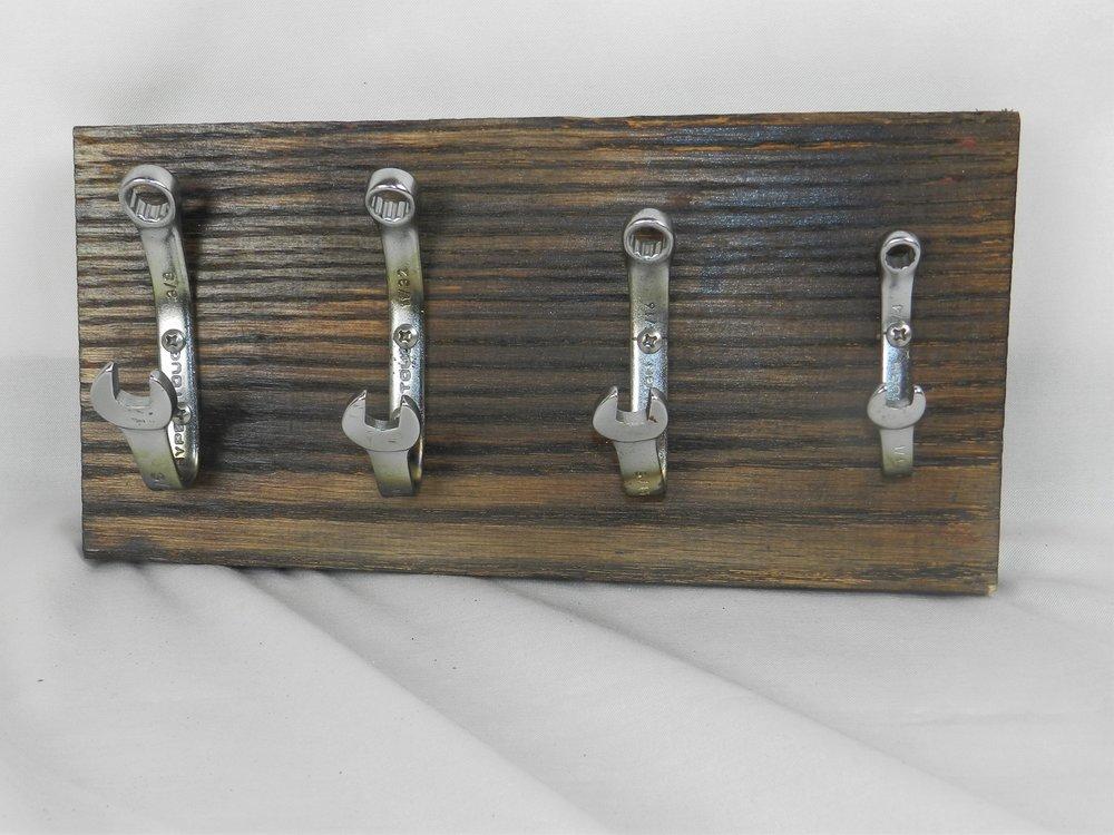 Wrench Coat Rack MDA Woodwork Unique Handmade Wooden Goods Mesmerizing Handmade Coat Rack
