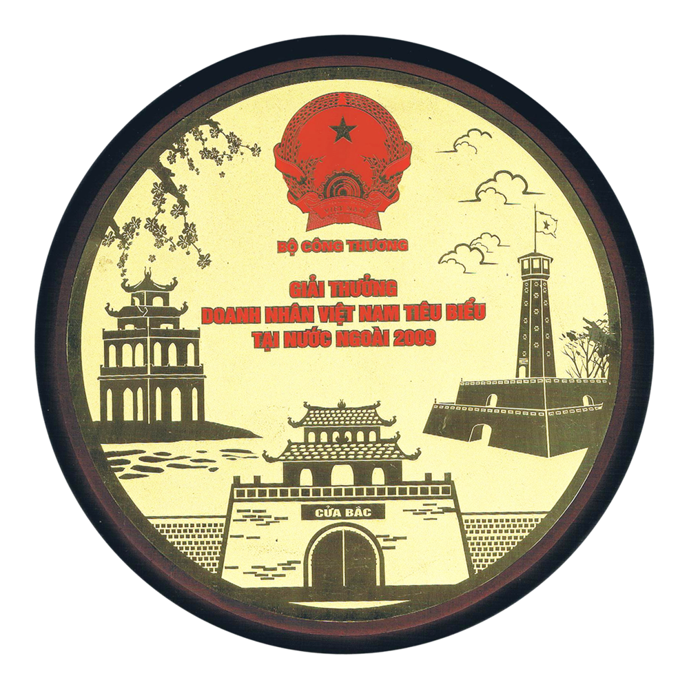 2009 Development of Industry & Trade Award - Vietnam Ministry of Industry and Trade