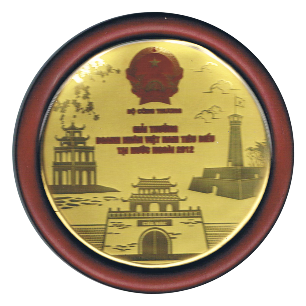 2012 Development of Industry & Trade Award - Vietnam Ministry of Industry and Trade