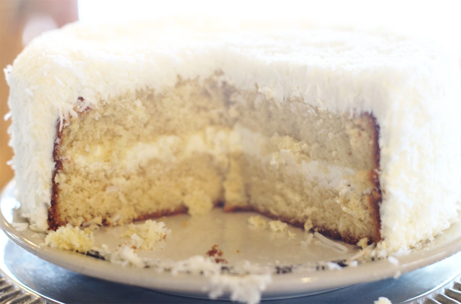 – For the Love of Coconut Cake – - [ SUBSCRIBE TO OUR NEWSLETTER FOR TREATS FROM GALE ]