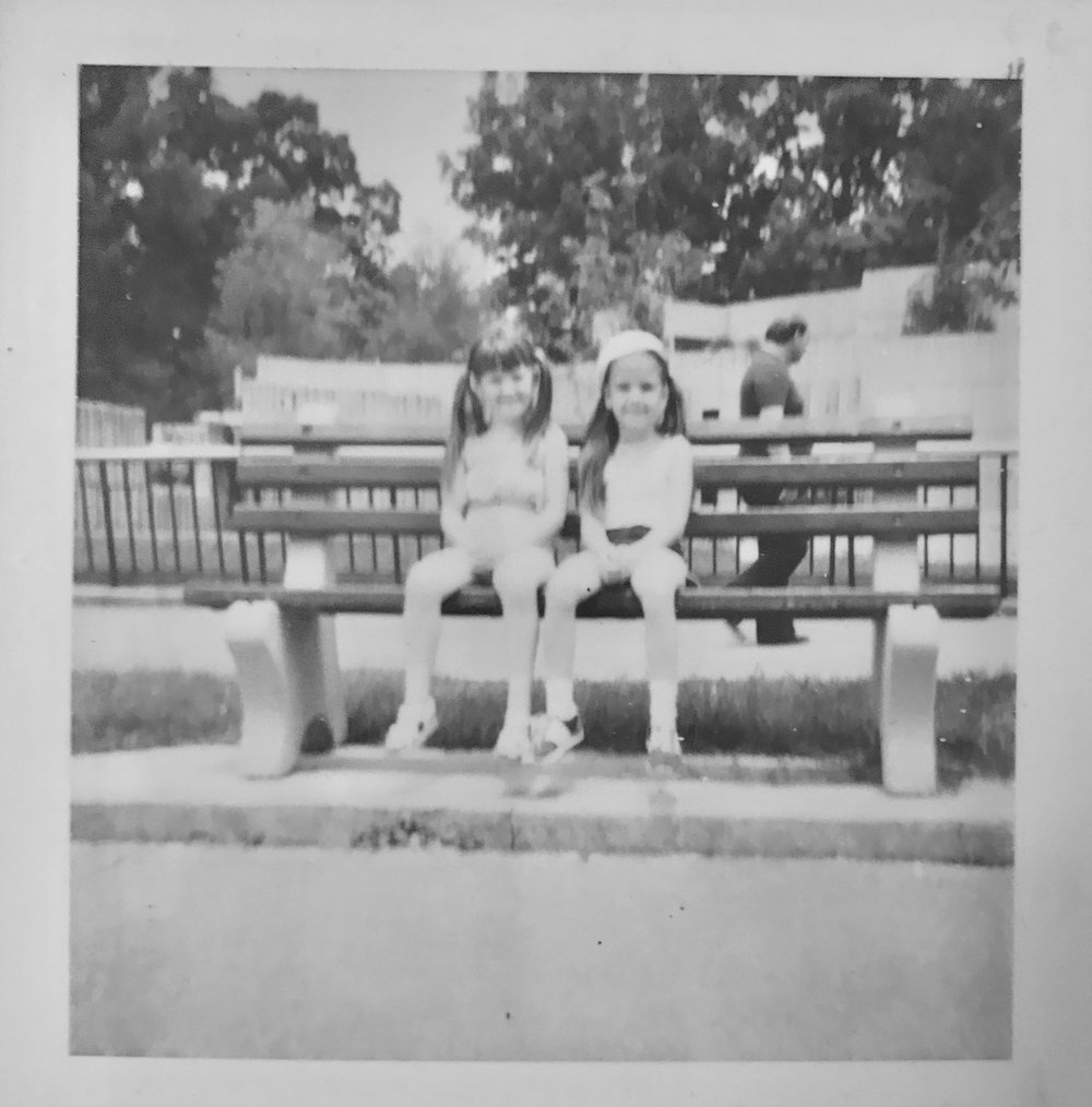 """Me and my first """"best friend"""" circa 1979 at the Memphis Zoo."""