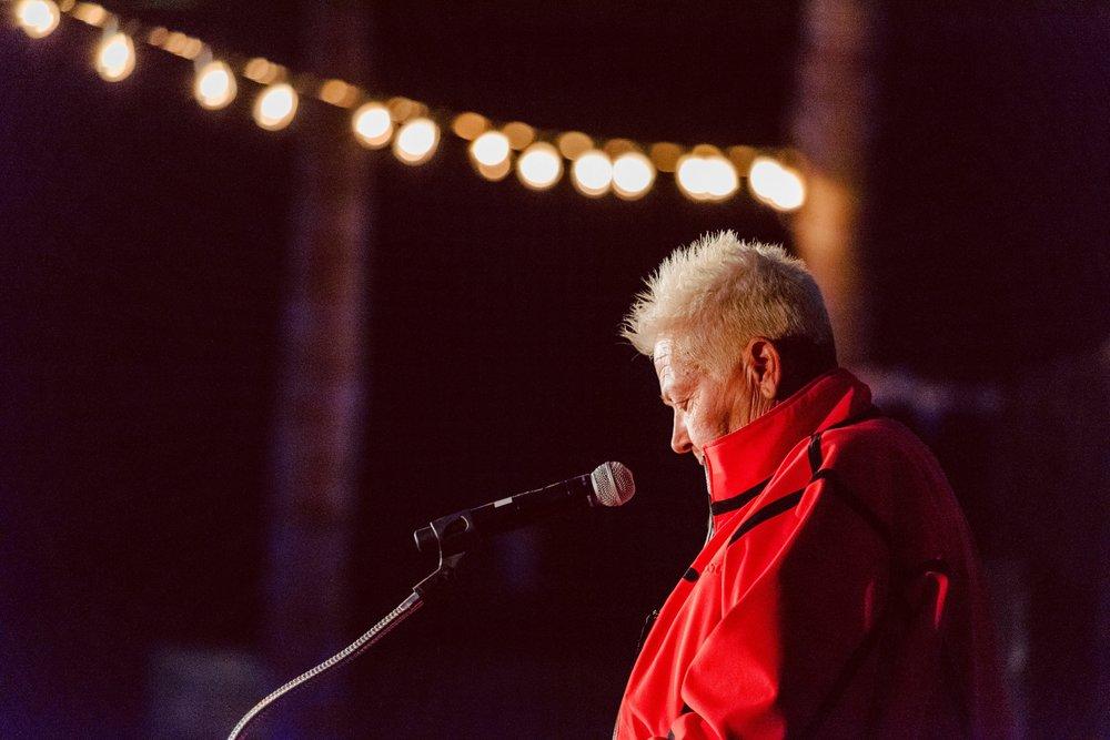Speaker,Sue Gallager in Venice 6/20