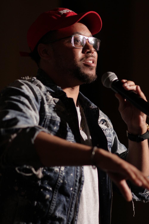 Speaker/spoken Word, Mike Jelks at Ebell of Los Angeles 2/28