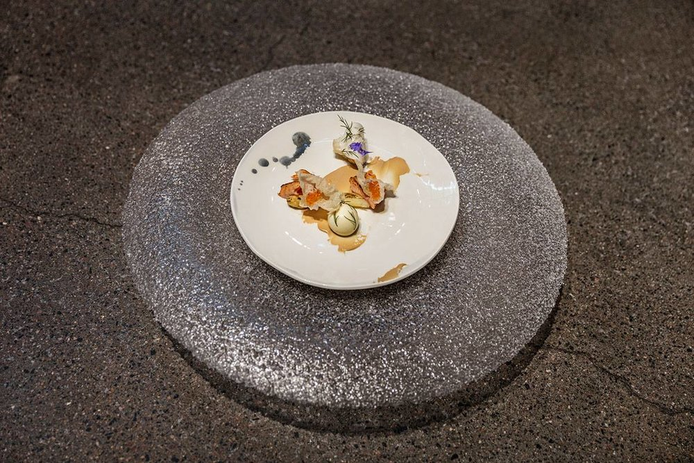 Supper Fest 2016, Helsinki  Ceramic plate Mari Paikkari  Glass Markku Salo  Photo Timo Kauppila