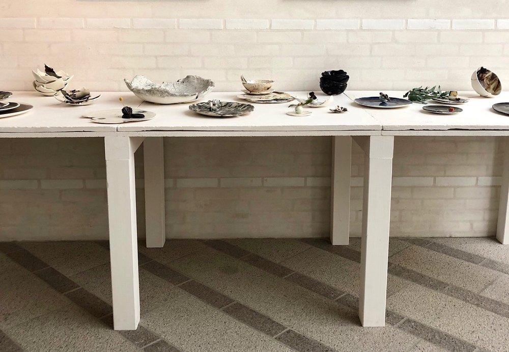 Installation, Ceramist Gourmet, 2018