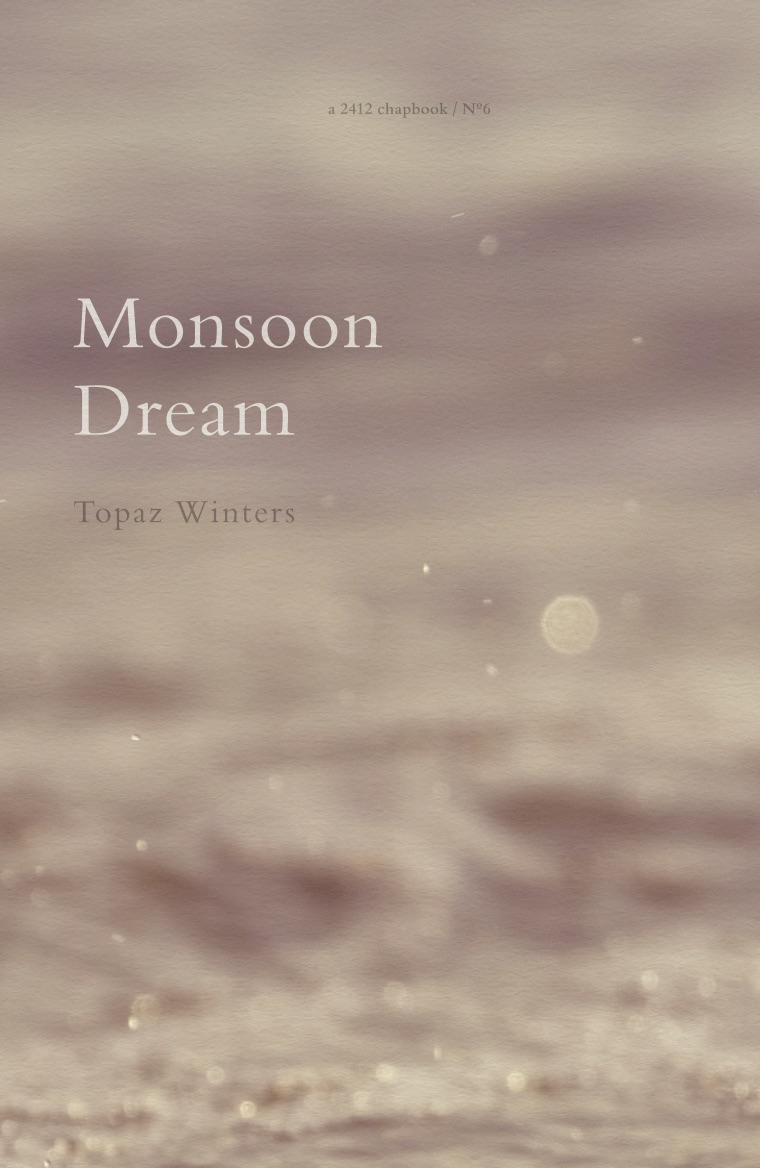 "Monsoon Dream, 2016 - ""The irony, of course, is now that I am growing hyperaware how fast my time is ticking down, I can't stop noticing what I never did before. Finding things to adore, things to stick to, that my eyes have always skip-stumbled over: a gecko humming on the wall, exhilarated by its own smallness. Tourists at a bus stop smoothing down their frizz-static hair, already learning the language of a country halfway between humid & a hard place. Orchid on the table, gasping & singing into bloom. This is the way that remembering happens."""