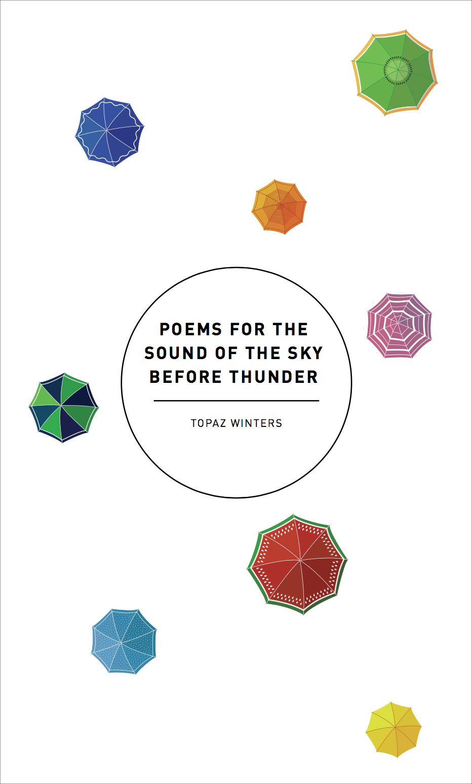 poems for the sound of the sky before thunder, 2017 -