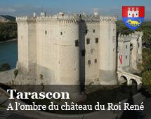 Tarascon : a l'ombra del castello del Re Renato di Angio
