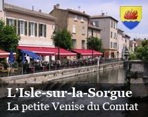L'Isle-sur-la-Sorgue : the small Venice of Comtat