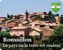 Roussillon : the country where land is color