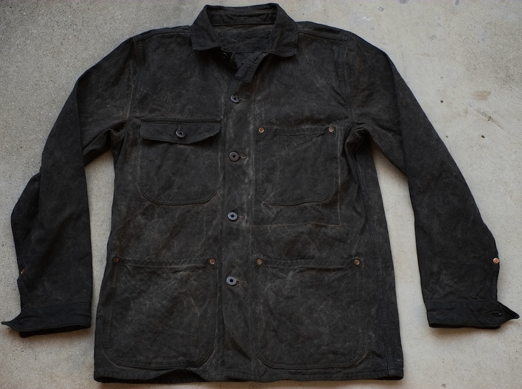 Jack Knife Barn Jacket Black