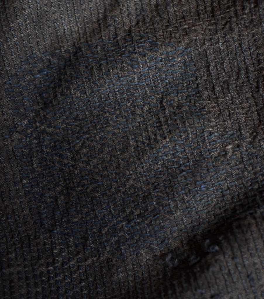 Knee sashiko repair detail Century Denim