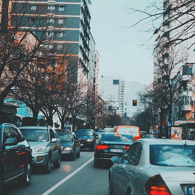 On the roads of Tirana, 🇦🇱 • • • #caricarimusic #caricari #touring #bandtour #duoband #bluesband #tiranacity #tirana #albania #albaniancity #travelalbania #travelbalcans #instaalbania #livemusic #liveconcert #abondenedplaces #travelergram #cityphotography #instatravel #albaniancars #musicianslife #musician #roadtrip #analog #analogphotography #canonfilm #canonat1