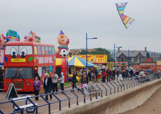 Seaside Festival in Spittal (Berwick upon Tweed)