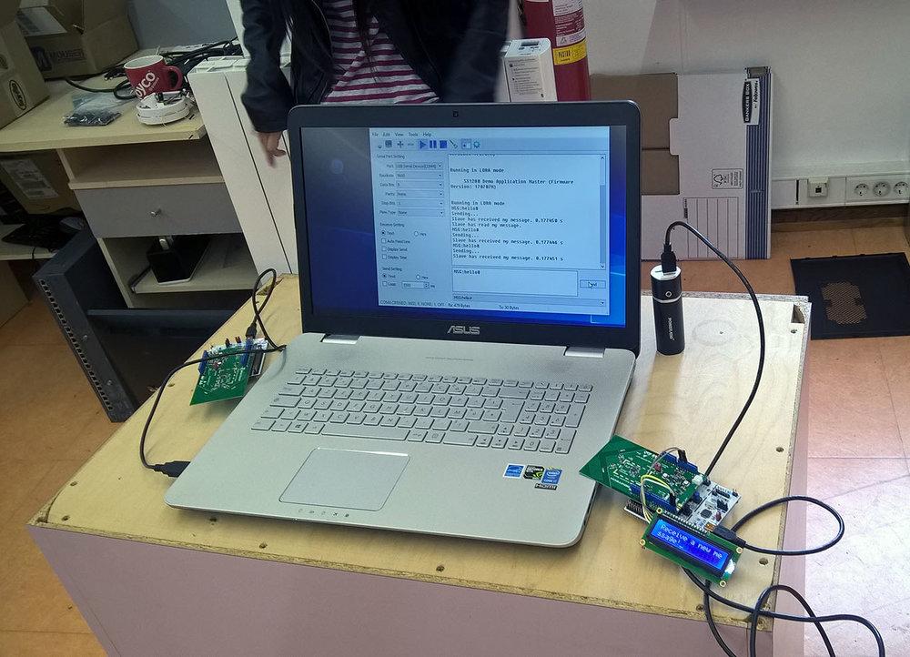 LORA prototype test