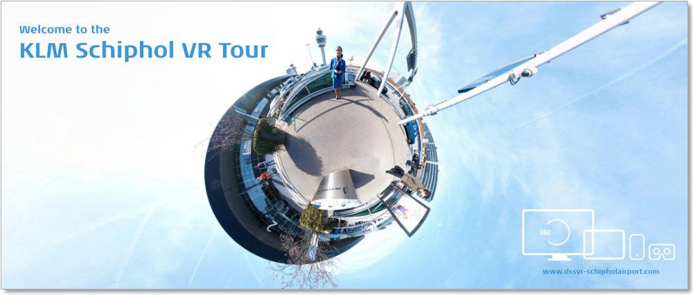 Met de KLM Schiphol VR Tour geven we alle medewerkers van KLM en ingehuurde bedrijven (wereldwijd) een rondleiding en informeren wij hen over alle faciliteiten en services die hier worden aangeboden.