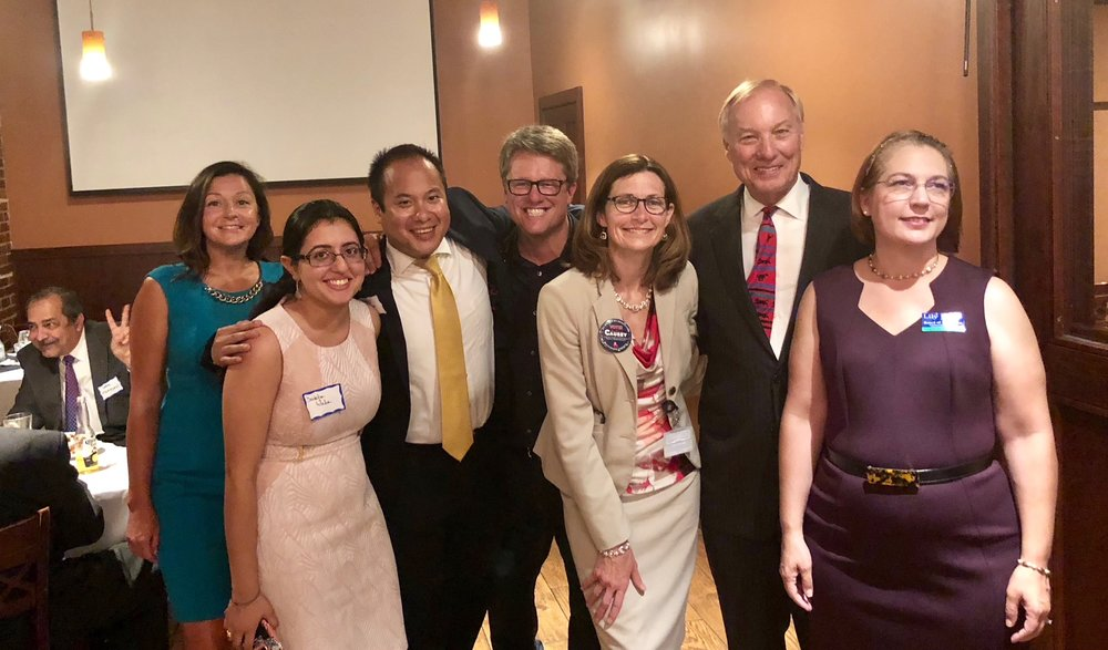 Kathleen Causey, Comptroller Franchot and others